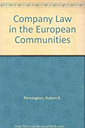 Company Law in the European Communities