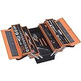 Werkzeugkiste 85 Teile Werkzeugkoffer Metallkiste