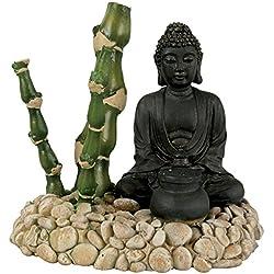 Decoración Buda bambú difusor