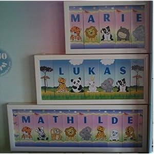 Holzbuchstaben Kinderzimmer Junge | Seite 5 | Deine-Wohnideen.de