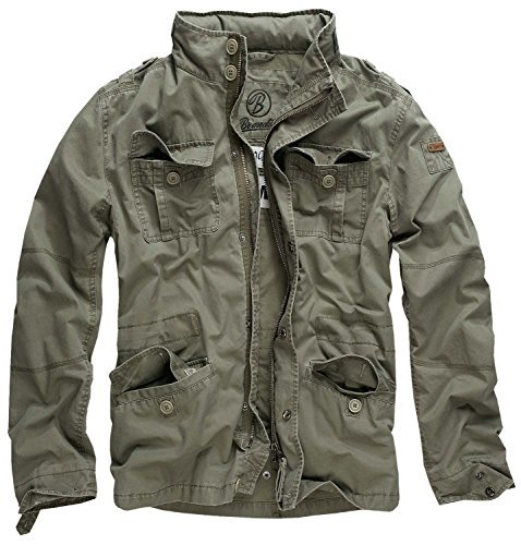 Brandit giacca da uomo streetware style m65 oliva l
