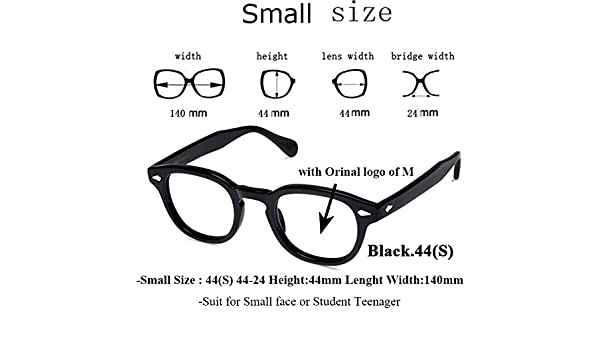 6dc2ea449b2 BuyWorld IVSTA Mos Logo Handmade Acetate Frames Women Johnny Depp Glasses  Men Brand Designer Cellulose Tortoise Acetato Marca with Box  Amazon.in   Home   ...