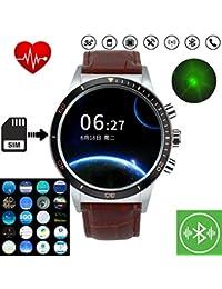 Msxx Smartwatch, Relojes Hombre, WiFi/Bluetooth/GPS/SIM Card/Fitness