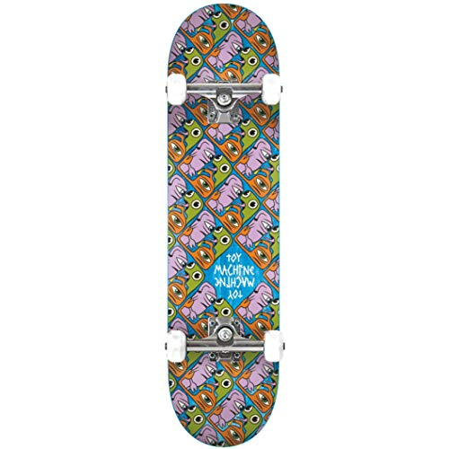 Toy Machine skateboard Complete Deck Squared Mini 7.75\'\' Complete, bruin, universele maat