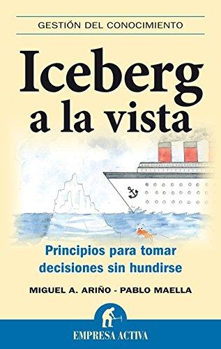 Iceberg a la vista (Gestión del conocimiento) por Pablo Maella Cerrillo