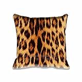 Custom Design Leopard Kissen Reißverschluss, Standard Größe Aero Kissenbezug–50,8x 50,8cm Muster Kissen zwei Größe Print