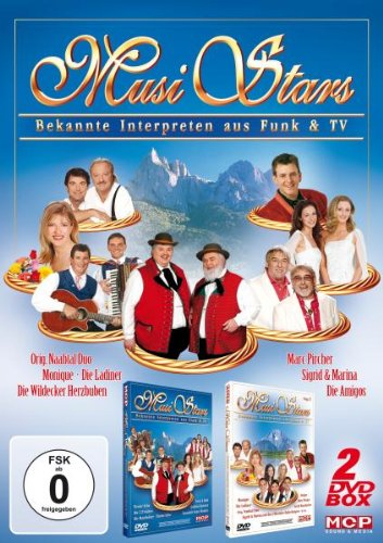 Musi Stars - Bekannte Interpreten aus Funk und Fernsehen 1+3 [2 DVDs]