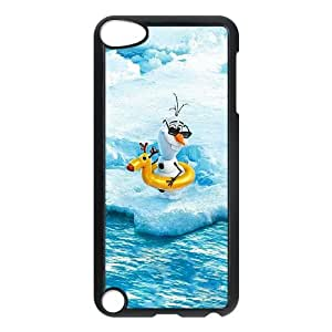 iPod Touch 5 Case Black Olaf Frozen LV7897188