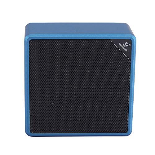YWSZY Kabelloser Bluetooth-Lautsprecher, Mini-Autolautsprecher, niedriger Außenlautsprecher, Blau