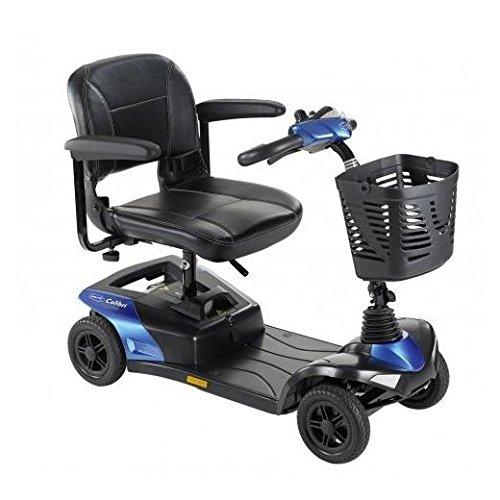 Seniorenmobil Invacare Colibri Scooter, Elektromobil 6 km/h, zerlegbar, klein & wendig, saphir-blau inkl. Anlieferung/Einweisung/Aufbau vor Ort