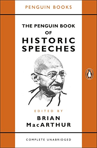 The Penguin Book Of Historic Speeches por MacArthur Brian