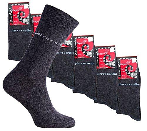 Preisvergleich Produktbild 18er Pack Pierre Cardin Business-Socken PC8010 Pack Strümpfe, Farbe:PC8010 Grau;Größenauswahl:39 - 42