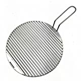 ZERO FAN Grill Rack Grill und Grillplatte Elektrische Grillkohle Grill-Runde Universalfeuerzeug BBQ Portable Outdoor mit Griff