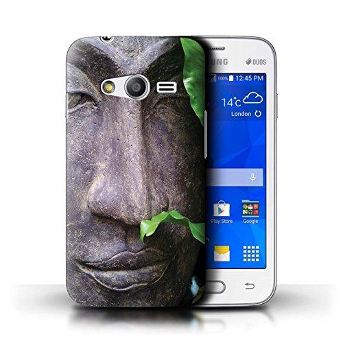 Stuff4® Hülle/Case für Samsung Galaxy V Plus/G318 / Zen Statue Muster/Innerer Frieden Kollektion Zen V Plus Cover