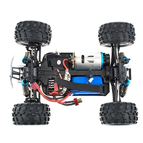 efaso WL Toys A979-B - schneller RC Monstertruck 70 km/h schnell, wendig, voll digital proportional - 2.4 GHz RC Auto mit Allradantrieb - Maßstab 1:18, hoher Fun Faktor - 5