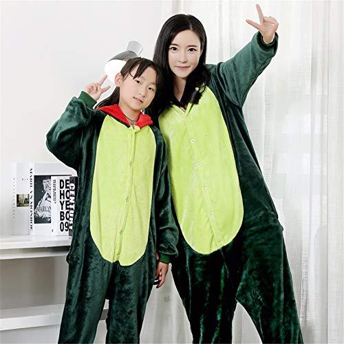 AGF+YUOP Halloween Weihnachten Dinosaurier Kleidung Halloween Weihnachten Cosplay Männliche und Weibliche Kinder Führen Party Requisiten Monster Kostüm Erwachsenen, 180-188Cm