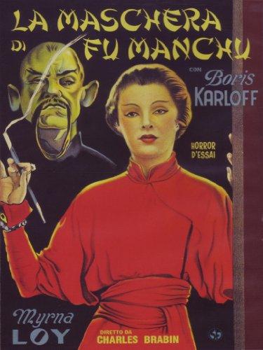 La Maschera Di Fu Manchu (Dvd)