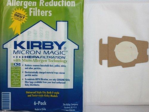 Sentria Hepa Micron Magic Ultimate G Kirby Vakuumbeutel, 6 Stück !