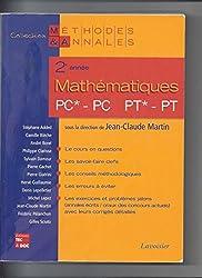 Mathématiques 2e année PC*, PC-PT*, PT : Licences scientifiques