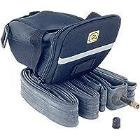 eigo strap-fix Lot de fourre-tout, leviers et pneu Tube intérieur multi-2-pack-26x 26x 1,9/2,125Valve Schrader 40mm