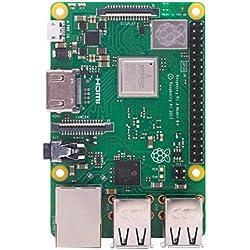 Raspberry Pi 3 Modelo B+ - Placa de Base, Color Verde
