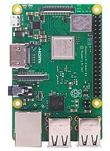 Raspberry Pi 3BPLUS-R 1.4 GHz 1 GB RAM 64-Bit Quad Core Processor Single Board Computer - Green