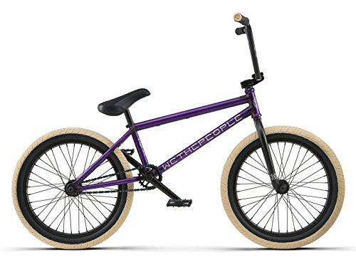 We The People BMX Reason FC Complete Bike 2018 Matt Translucent Purple