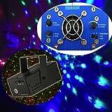 Proyector holográfico mini dj para discoteca, la luz se coordina con el ritmo de la música - Color verde y rojo