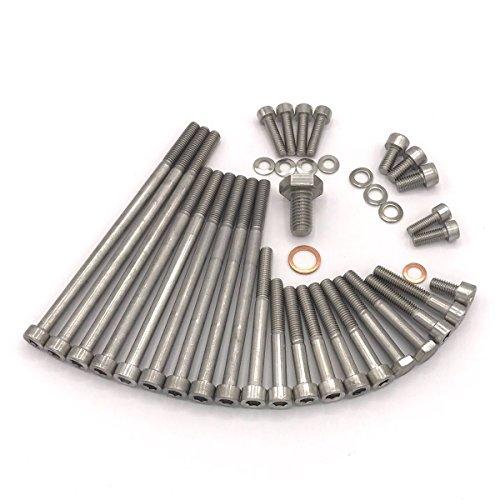 Zündapp Motor Schrauben Satz für Typ 561 R50 3-Gang-Motor Typ 267 Zylinderschrauben mit Innensechskant aus Edelstahl V2A
