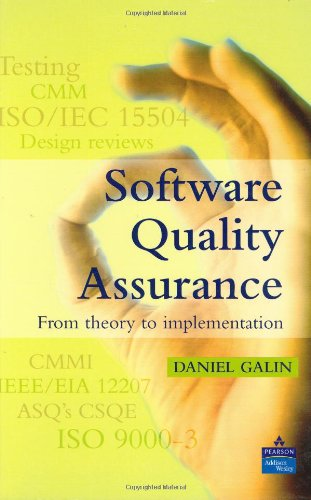 Software Quality Assurance: From Theory to Implementation (Alternative Etext Formats)