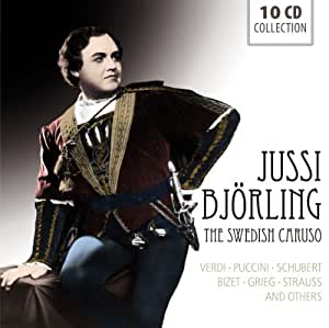 The Swedish Caruso by Jussi Bjorling (2013) Audio CD