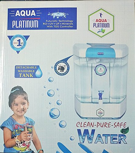 Aquafresh Platinum Futuristic Technology With Ro + Uv + Uf+ Minerals + Tds Controller With 12 Ltrs. Storage Tank  available at amazon for Rs.6795