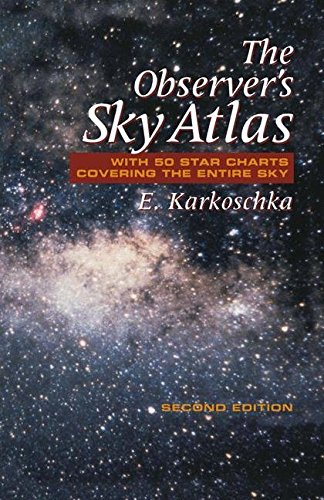 The observer's sky atlas with 50 star charts covering the entire sky. : 2nd edition