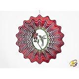 Spin Art funda colibrí viento Spinner (30,5cm)