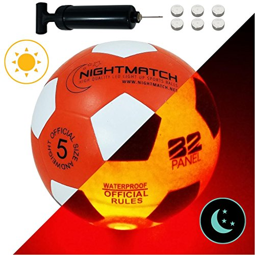 NIGHTMATCH Balón Fútbol Ilumina Incl