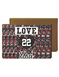 Love 22 Credit Card Wallet By Robobull