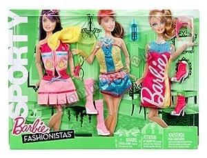 Barbie Mattel - Y7095 - Accessoire Poupée - Fashionistas - Mode - Set Vêtements Parti