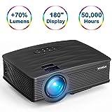 Best Projecteurs Hd Home Cinéma Multimédia Lcd Led - Vidéoprojecteur,WiMiUS Mini Vidéo projecteur Portable LCD 2600 Lumens Review