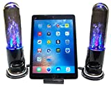 Bluetooth Dancing Water Speakers with Docking Station for iPhone 5,5c,5s,6,6s,6+, 6SE, 7, 8