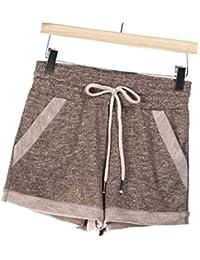 Kampf Shorts Damen Sommer Casual Sport Locker Große Größen Bermuda Outdoor  Gym Yoga Kurze-Hose 1707ec3a7a