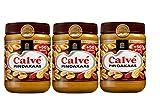 3 X Calve Pindakaas - Erdnußbutter - Peanut Butter 650g