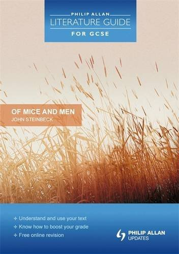 Philip Allan Literature Guide (for GCSE): Of Mice and Men Study and Revision Guide by Steve Eddy (2010-03-26)
