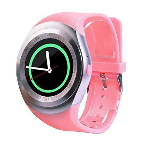 Jiameng smartwatches - 2018 bluetooth smart watch orologio cellulare mate pieno schermo sim per android per ios smart watch rosa