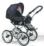 Wunderschöner Retro Kinderwagen Babywagen 3in1 giullietta (K104) - 2