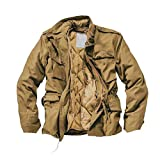 Delta Herren M65 Army Fieldjacket (XL, Beige)