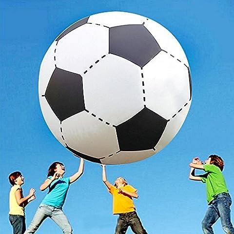 Nakital 51 Zoll über großem riesigen aufblasbaren Strand Fußball schwimmenden Pool Fußball Ball für Party Spiel Spiel Spielzeug