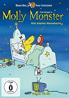 Ted Sieger's Molly Monster: Vol. 3 [Region 2] by Sophie Rois