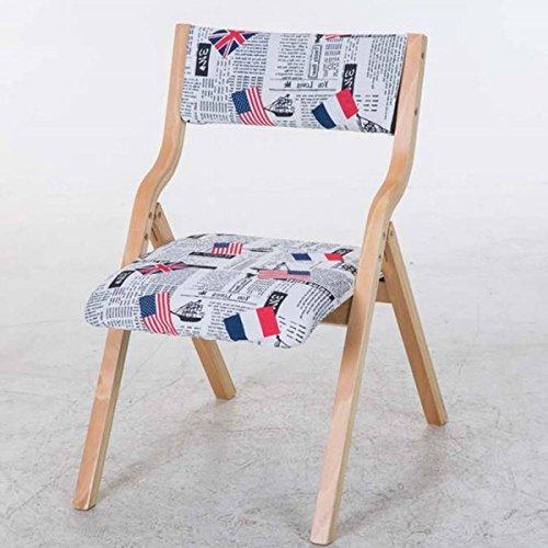 GEXING Chaise Pliante/Lavable Simple Home Chaise Pliante/Computer Leisure Chair/Chaise De Bureau Simple/Chaises en Plastique,G-78 * 48 * 42cm