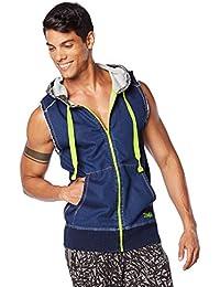 Zumba Fitness Herren MT Outerwear Denim Dance Hoodie