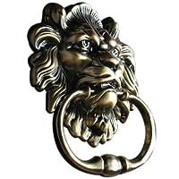 UniDecor Antique Lion Door Knocker Lion Head by Unilocks